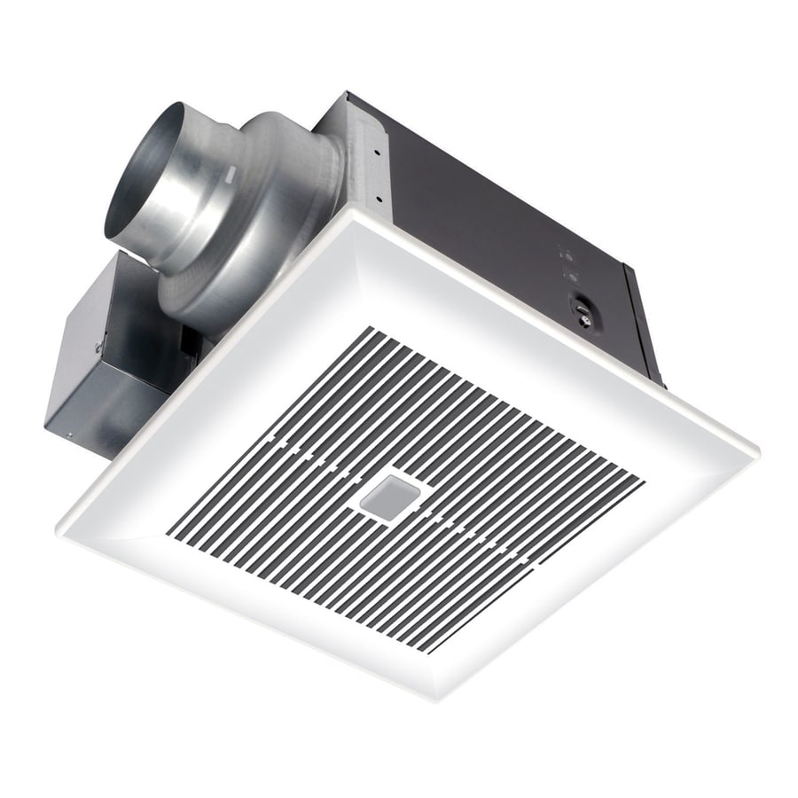 Exhaust fan covers for bathroom - Panasonic 0 3000 Sone 110 Cfm White Bathroom Fan Energy Star