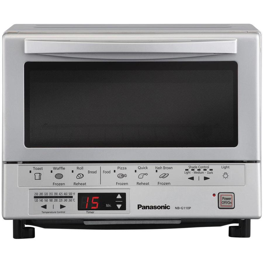 Panasonic 4-Slice Gray Toaster Oven