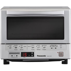 Elite 6-Slice Black Convection Toaster Oven with Rotisserie