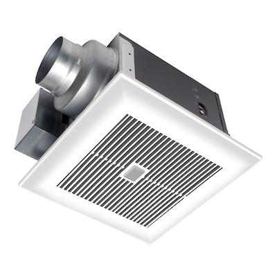 0 3 Sone 80 Cfm White Bathroom Fan With Led Light Energy Star