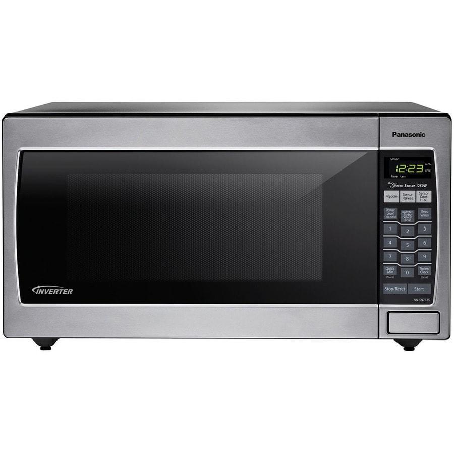 Panasonic 1 2 Cu Ft 1 200 Watt Countertop Microwave
