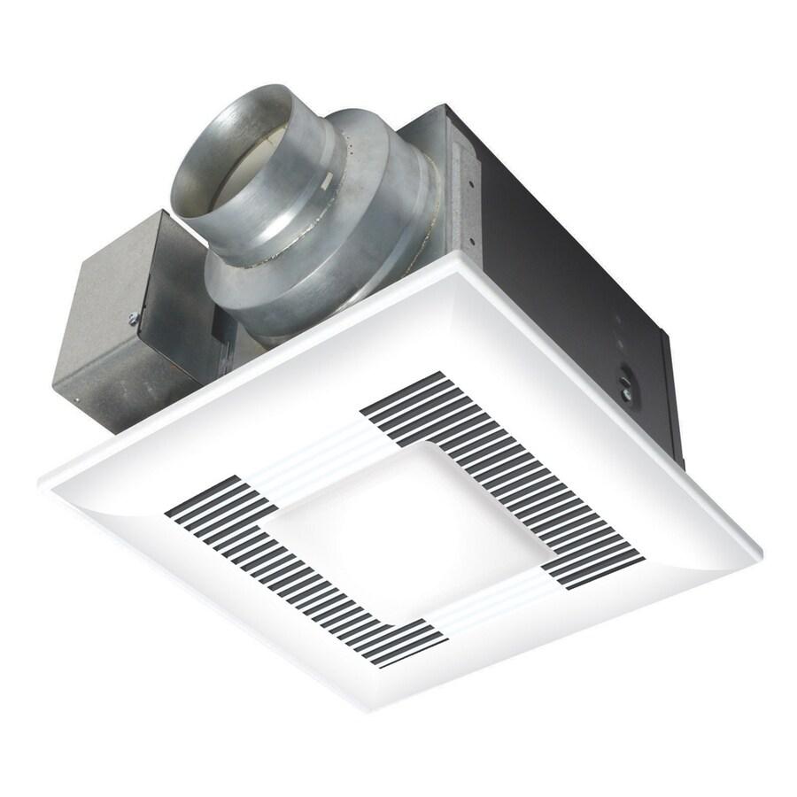 Panasonic 0.3-Sone 80-CFM White Bathroom Fan ENERGY STAR