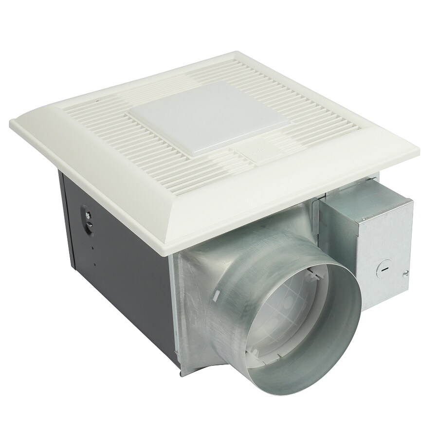 panasonic bathroom fans with light shop panasonic 0 6 sone 150 cfm white bathroom fan with 23958
