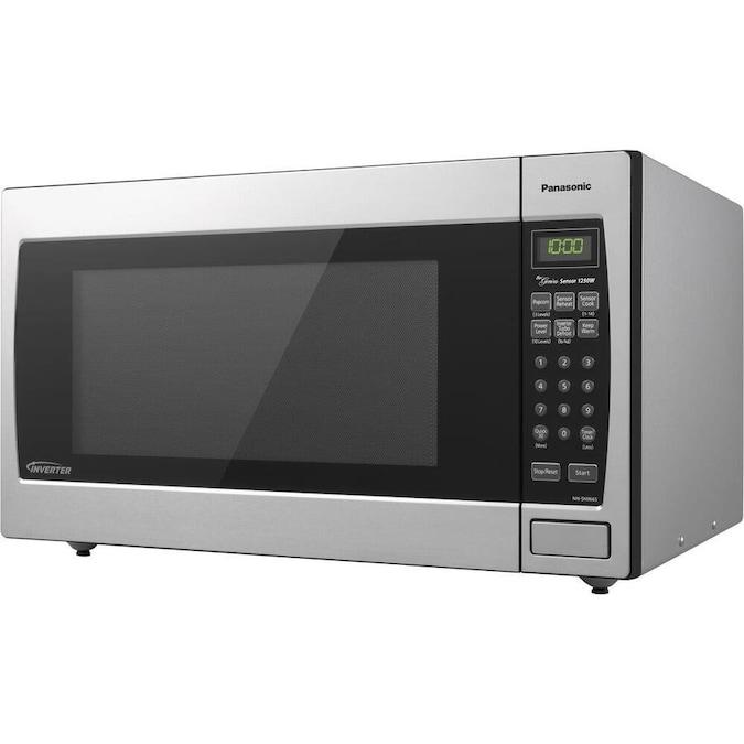 Panasonic 2.2-cu ft 1250-Watt Countertop Microwave ...