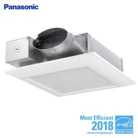 Panasonic Whispervalue 0 3 Sone 110 Cfm White Bathroom Fan Energy Star