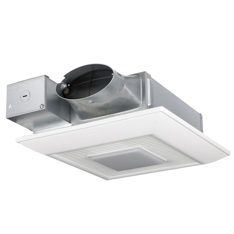 Shop Broan 0 3 Sone 110 Cfm White Bathroom Fan Energy Star: Shop Panasonic WhisperValue 0.3-Sone 110-CFM White