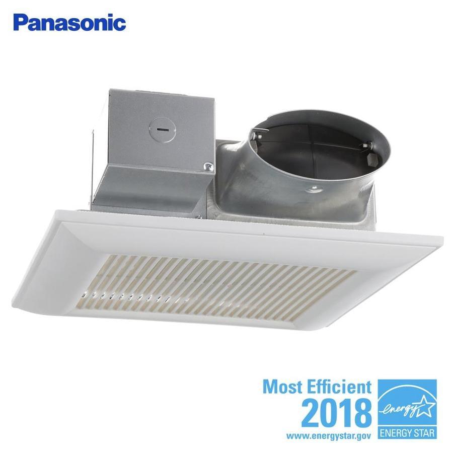 Panasonic Whispervalue 0 4 Sone 100 Cfm White Bathroom Fan