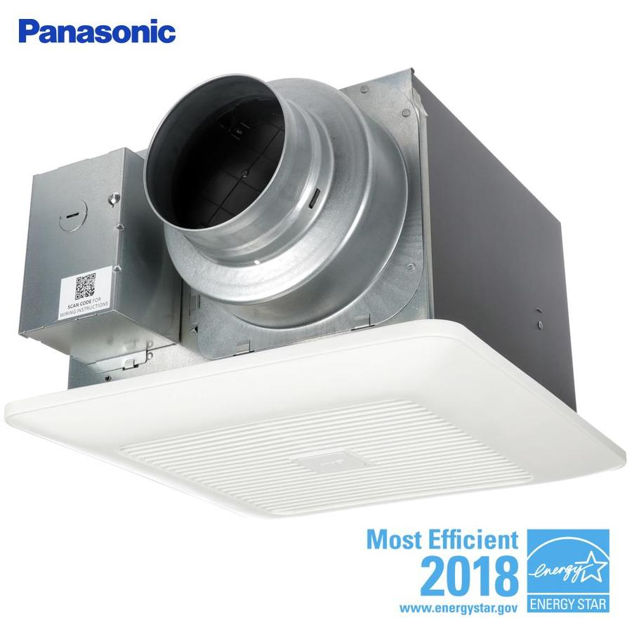 Panasonic Whispergreen 0 4 Sone 110 Cfm White Bathroom Fan Energy Star