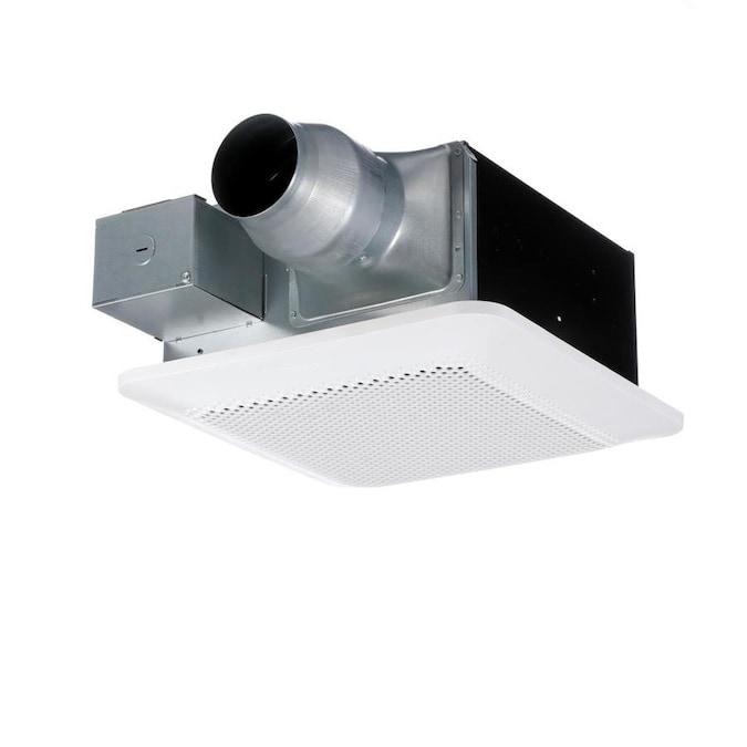 Panasonic Whisperremodel 0 8 Sone 110 Cfm White Bathroom Fan Energy Star In The Bathroom Fans Heaters Department At Lowes Com