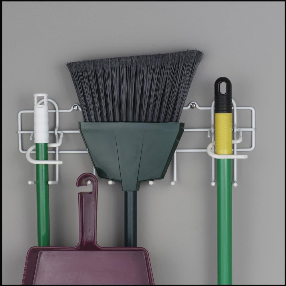 Real Organized Tm Broom Amp Mop Holder At Lowes Com