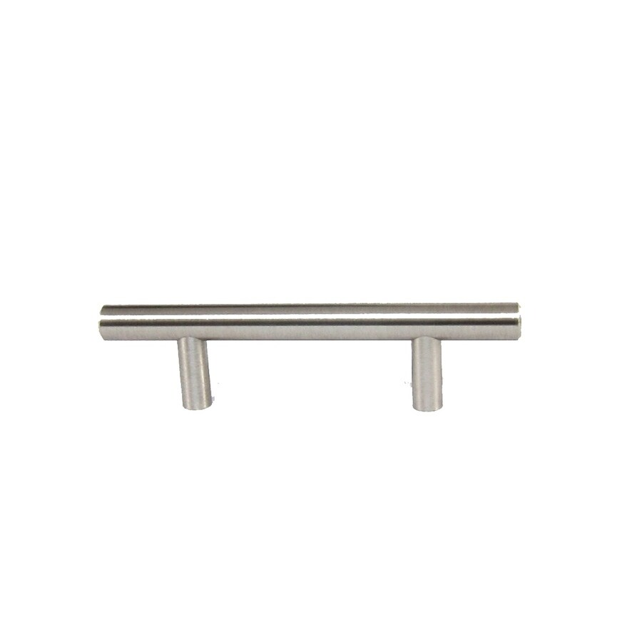 Style Selections 3 In Center To Center Brushed Satin Nickel Bar Cabinet Pull