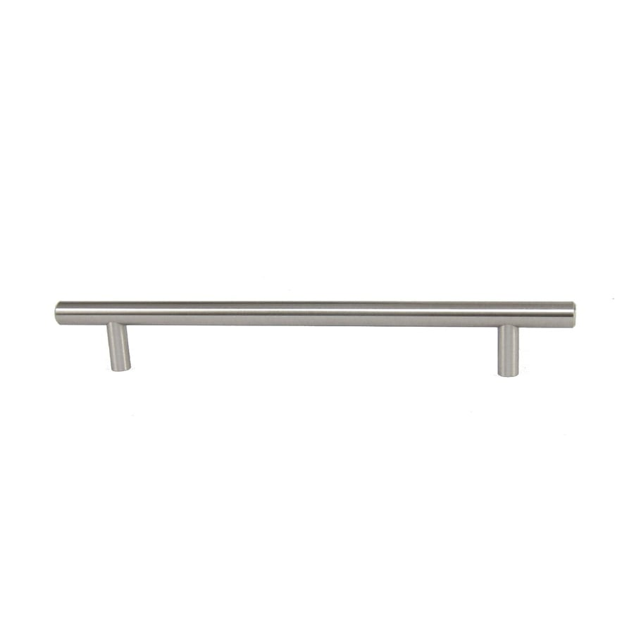 Style Selections 192mm Center To Center Brushed Satin Nickel Bar Cabinet  Pull