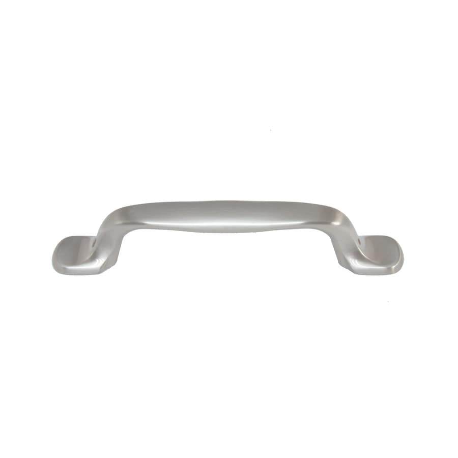 Style Selections 96mm Center-to-Center Brushed Satin Nickel Bar Cabinet Pull