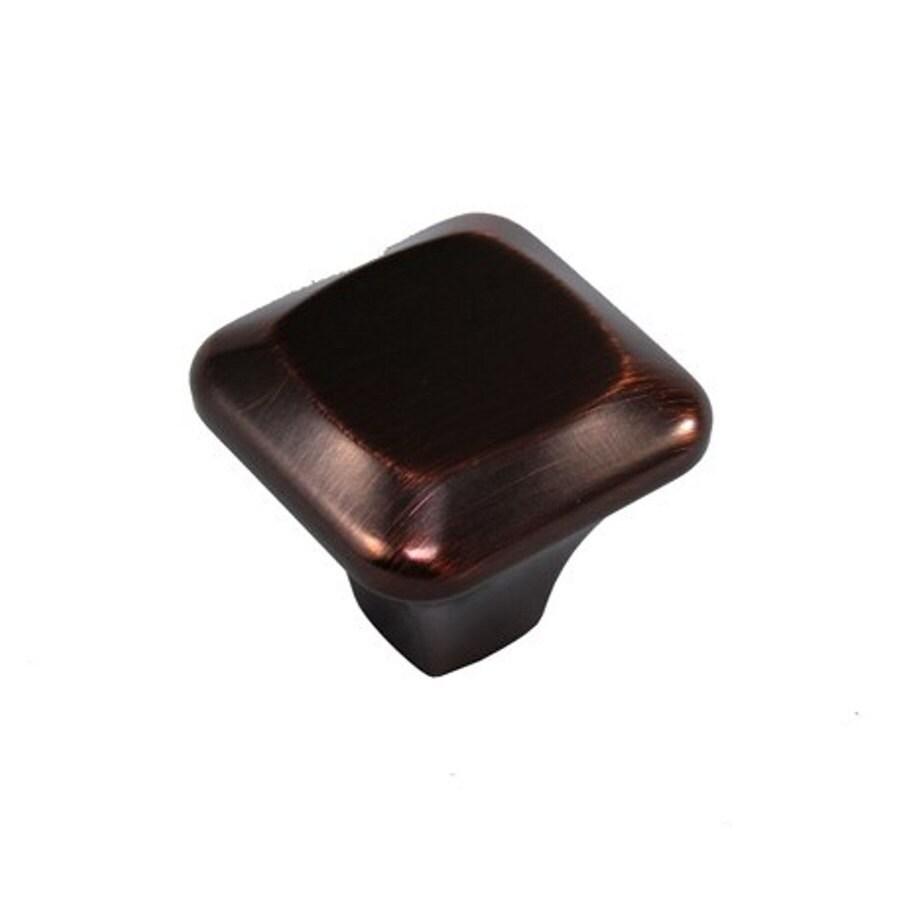 allen + roth Oil-Rubbed Bronze Square Cabinet Knob