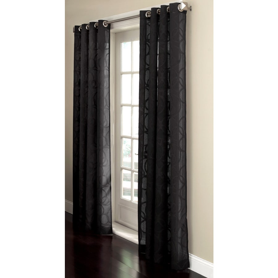 Sheer Black Curtain Panels Curtain Menzilperde Net