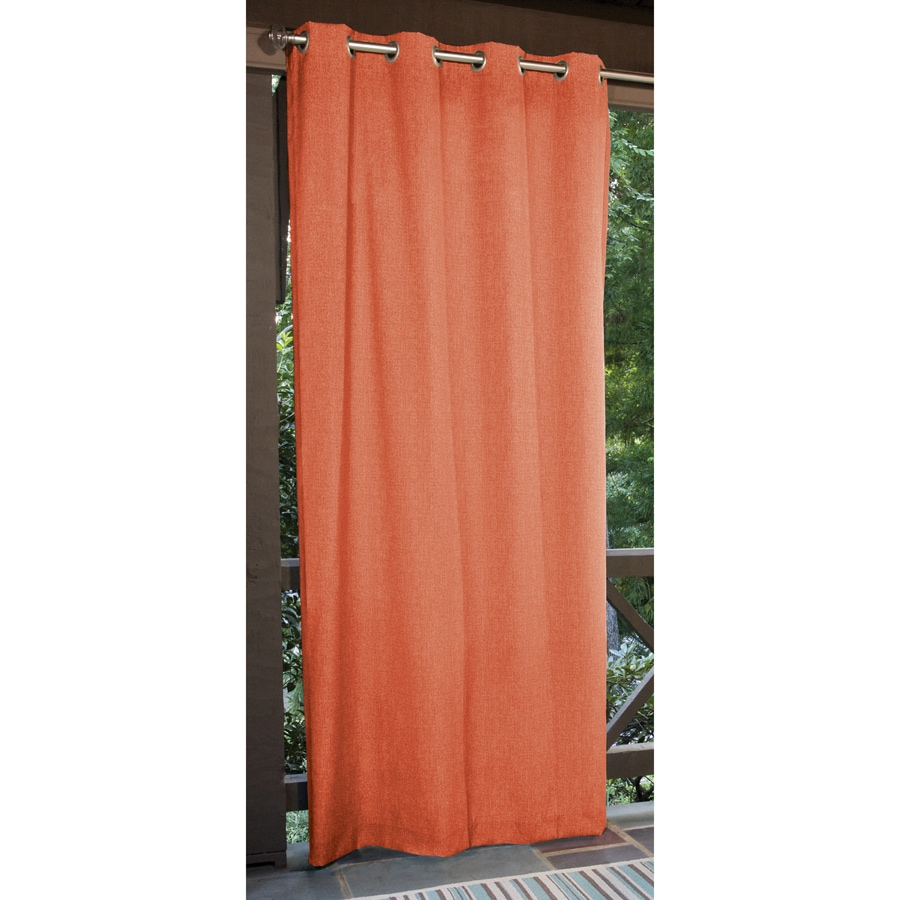 Allen + Roth 96 In L Coral Patio Curtains Outdoor Window Curtain Panel