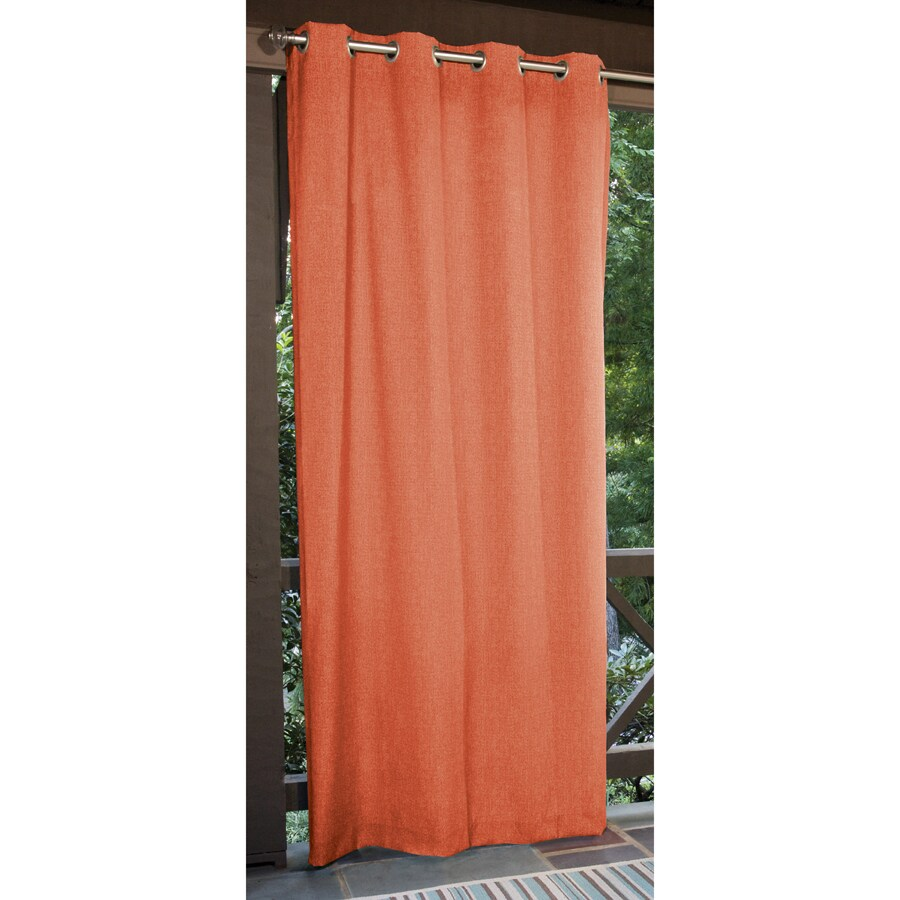 Allen + Roth 108 In L Coral Patio Curtains Outdoor Window Curtain Panel