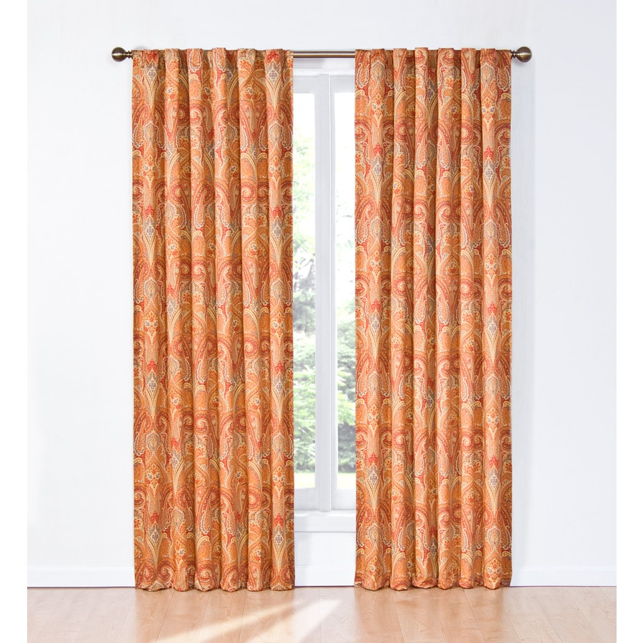 Waverly Waverly Home Classics 84-in Pearl Cotton Back Tab Single Curtain Panel
