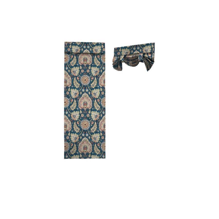 Waverly Clifton Hall 68-in Gem Cotton Rod Pocket Single Curtain Panel