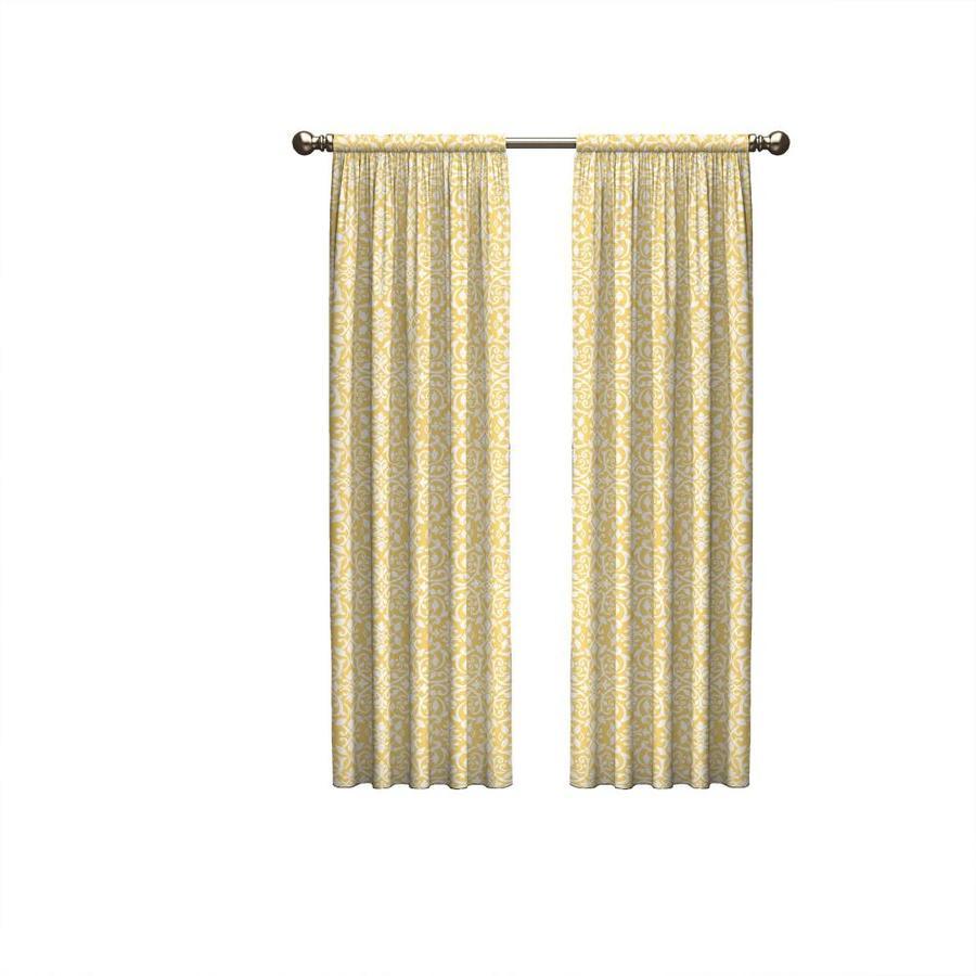 Light Yellow Curtain Panels Best Home Decorating Ideas