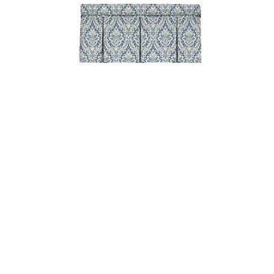 Waverly Donnington 18 In Cornflower Cotton Rod Pocket