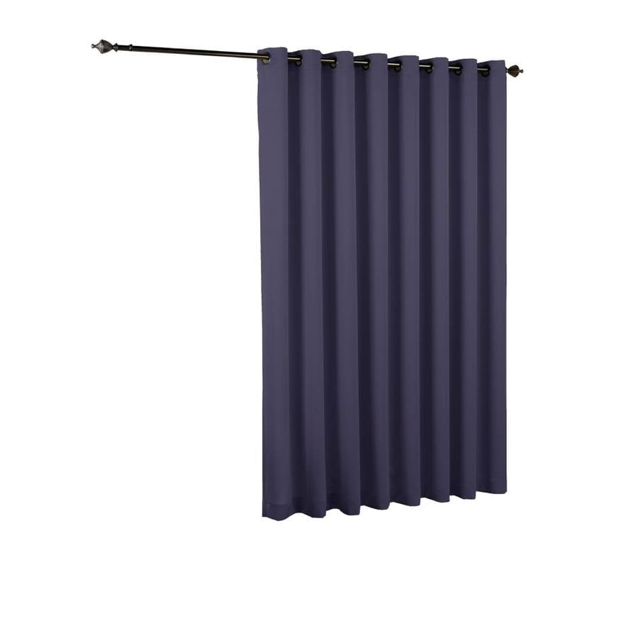 Shop Eclipse Tricia 84 In Midnight Polyester Grommet Room