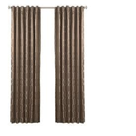 shop single curtain panel yvon curtains drapes at lowes com