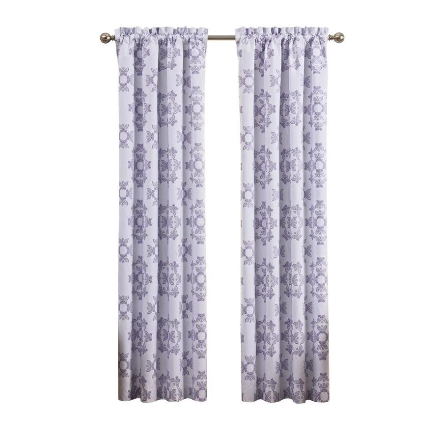 Waverly Ipanema 84 In Lavender Polyester Blackout Single