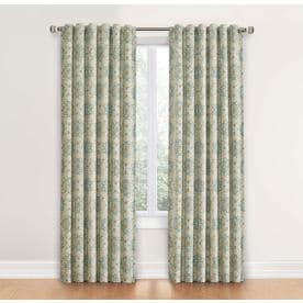 Waverly Astrid 84-in Spa Cotton Single Curtain Panel