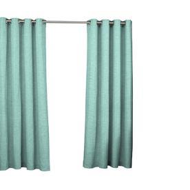 """108""""x52"""" Key Largo Indoor/Outdoor Curtain Panels Aqua - Waverly Sun N Shade"""
