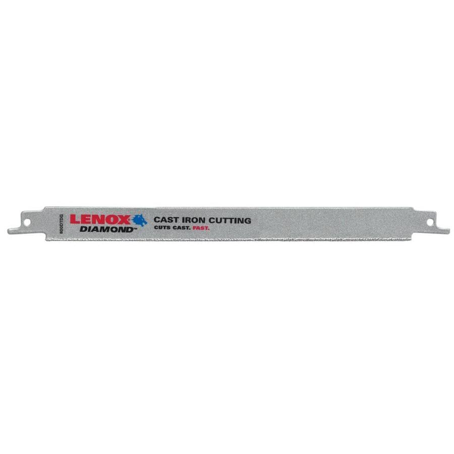 LENOX 9-in Grit-TPI Diamond Grit Reciprocating Saw Blade