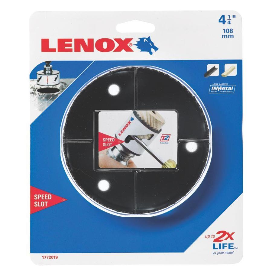 LENOX 4-1/4-in Bi-Metal Non-Arbored Hole Saw