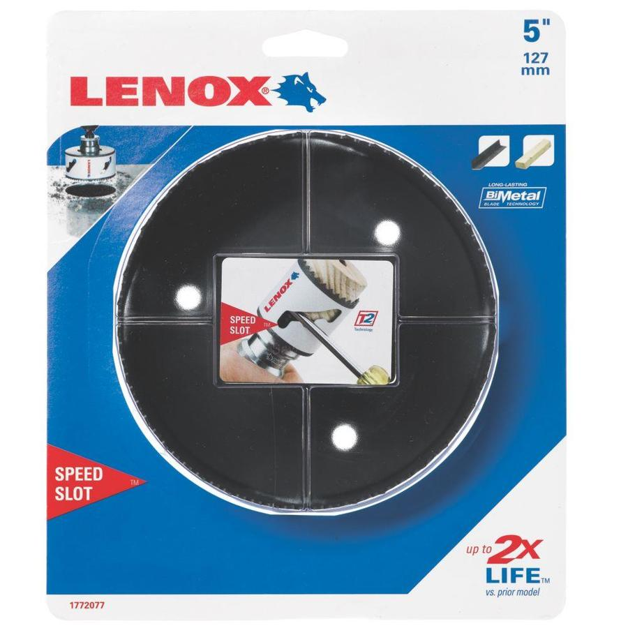 LENOX 5-in Bi-Metal Non-Arbored Hole Saw