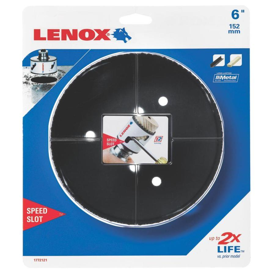 LENOX 6-in Bi-Metal Non-Arbored Hole Saw