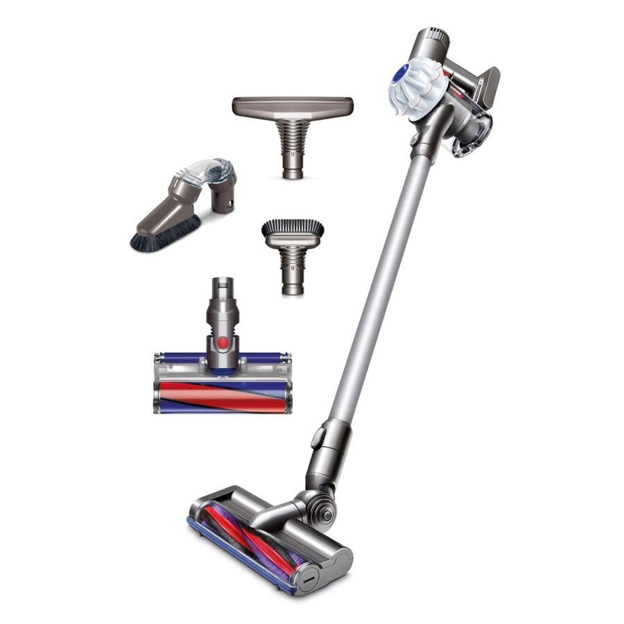 shop dyson v6 cordless cordless bagless stick vacuum with bonus cleaning tools at. Black Bedroom Furniture Sets. Home Design Ideas