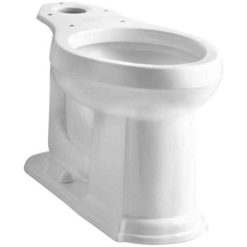 Kohler Devonshire White Elongated Chair Height Toilet Bowl