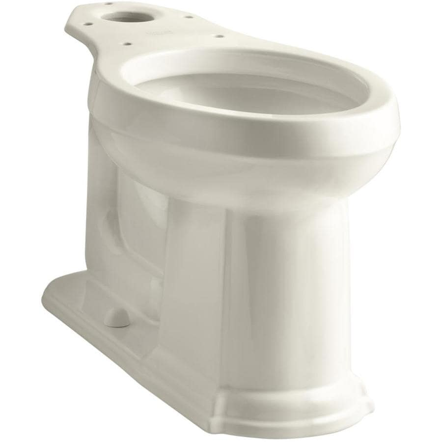 KOHLER Devonshire Chair Height Almond 12-in Rough-In Elongated Toilet Bowl