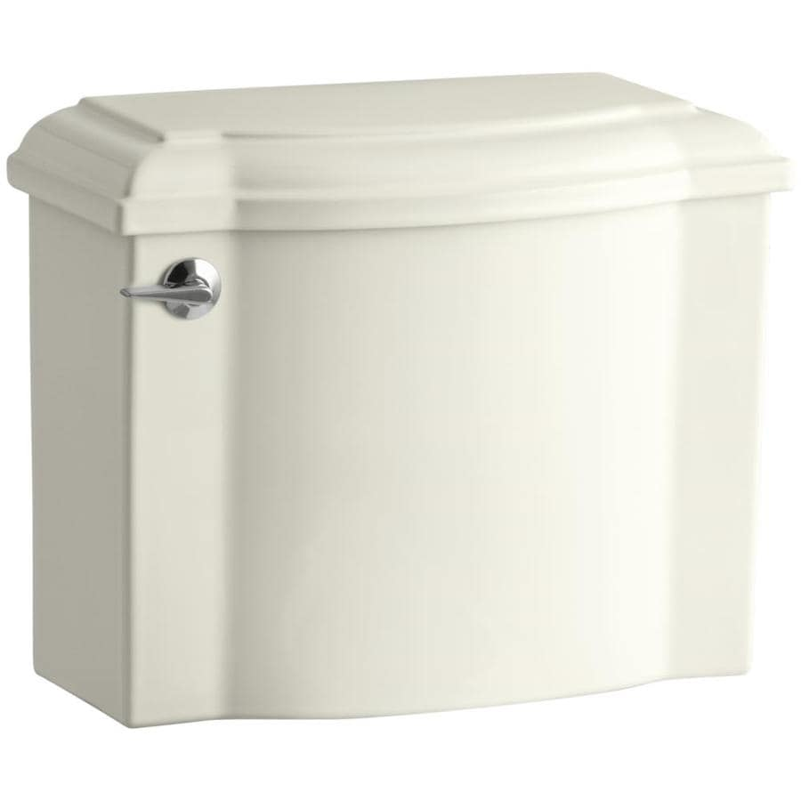 KOHLER Devonshire Biscuit 1.28-GPF Single-Flush High-Efficiency Toilet Tank
