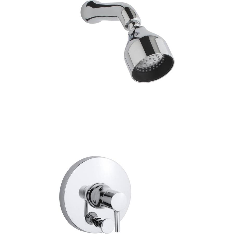 KOHLER Toobi Polished Chrome 1-Handle WaterSense Shower Faucet Trim Kit with Single Function Showerhead