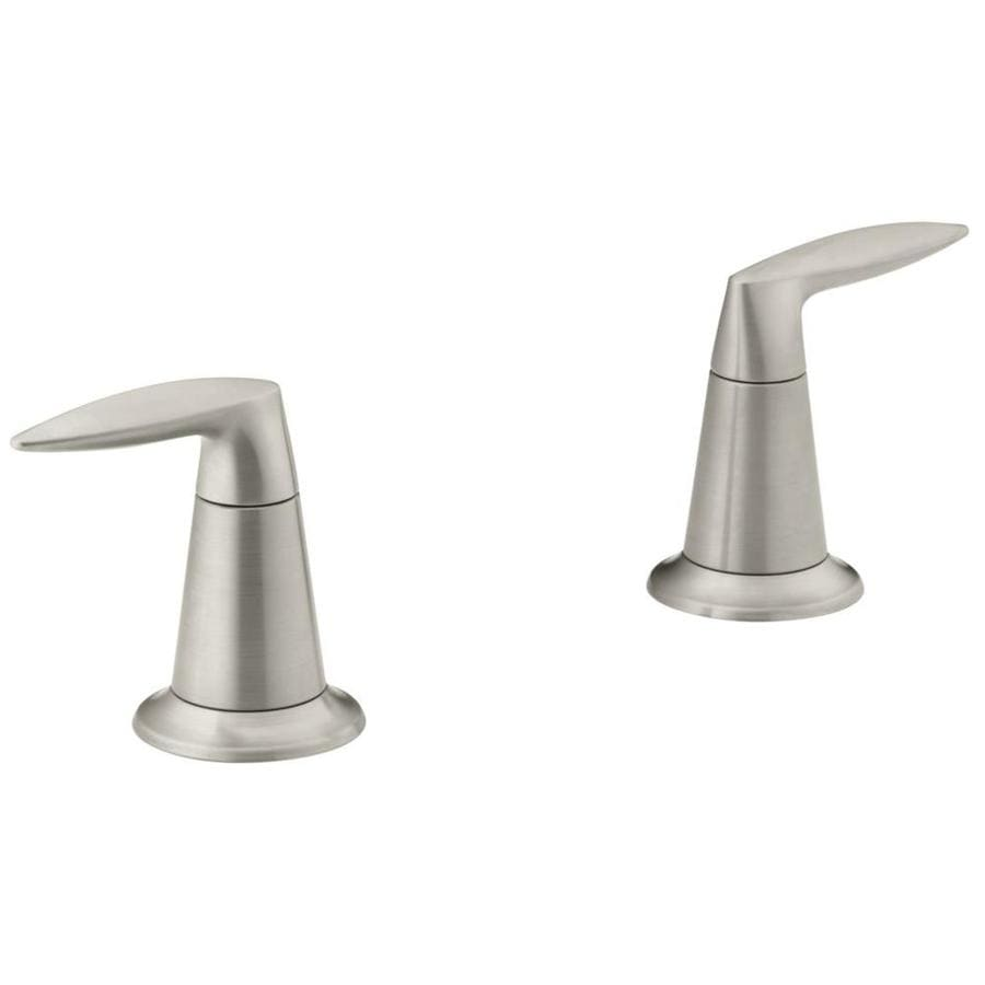 KOHLER 2-Pack Silver Faucet or Bathtub/Shower Handles