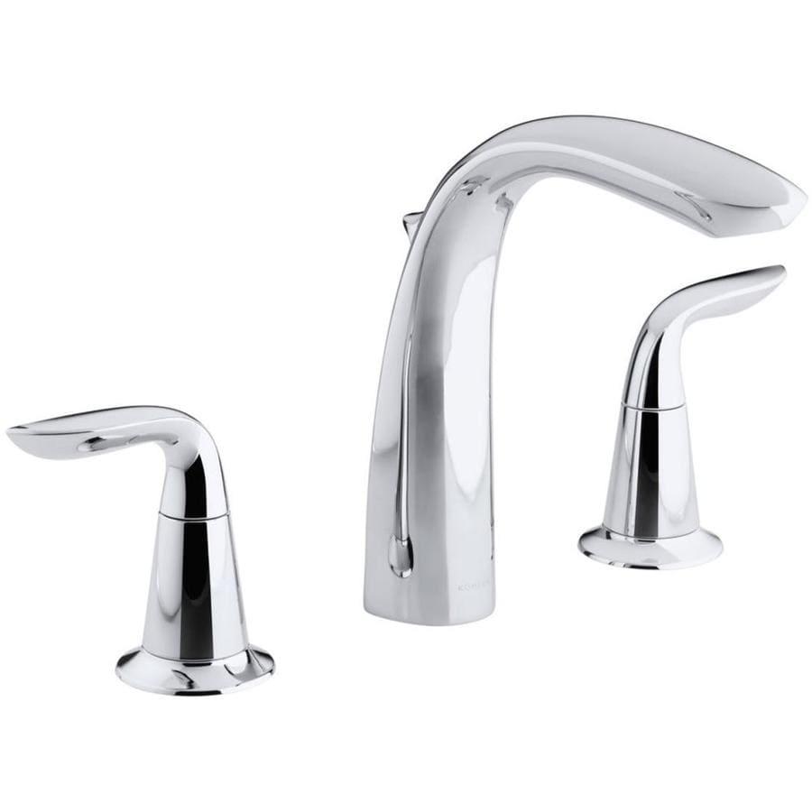 KOHLER Refinia Polished Chrome 2-Handle Widespread Bathroom Faucet