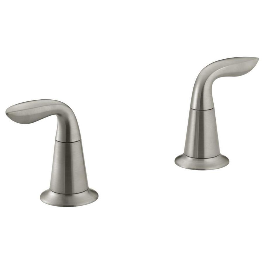 KOHLER 2-Pack Stainless Steel Faucet or Bathtub/Shower Handle