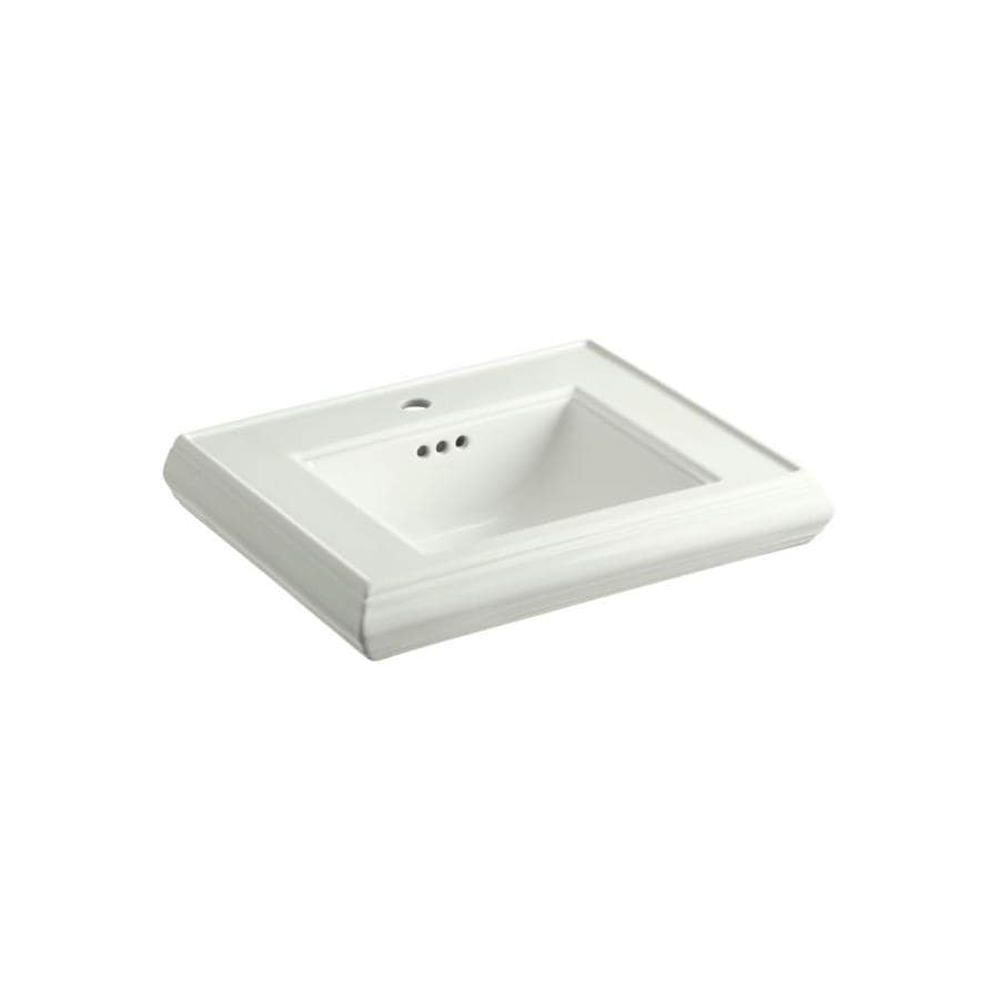 KOHLER Memoirs 24-in L x 19.75-in W Dune Fire Clay Rectangular Pedestal Sink Top