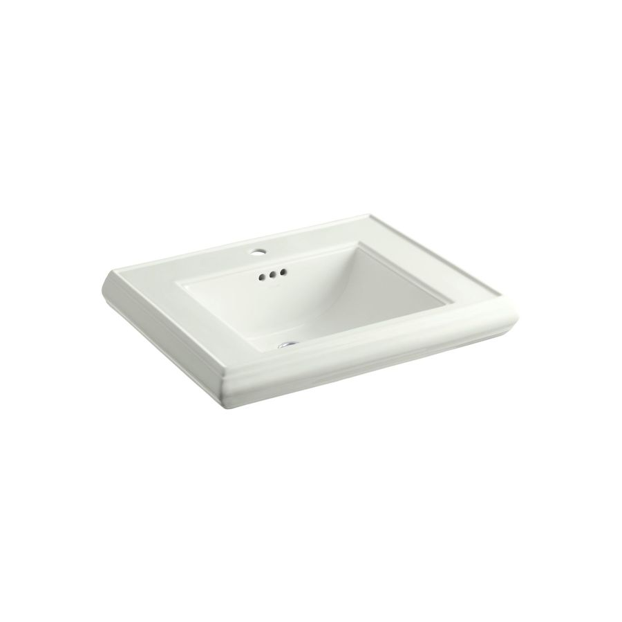 KOHLER Memoirs 27-in L x 22-in W Dune Fire Clay Rectangular Pedestal Sink Top