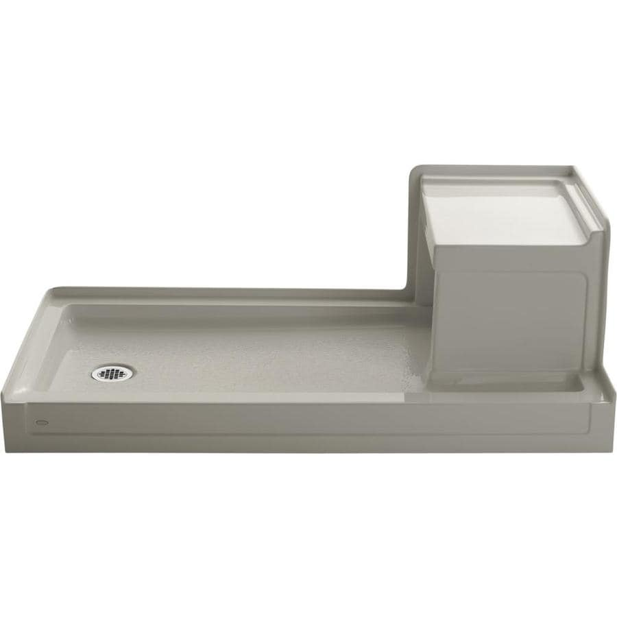 KOHLER Tresham Sandbar Acrylic Shower Base (Common: 32-in W x 60-in L; Actual: 32-in W x 60-in L)