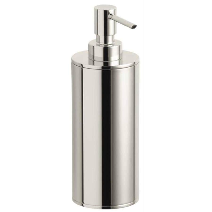 KOHLER Purist Vibrant Polished Nickel Soap and Lotion Dispenser