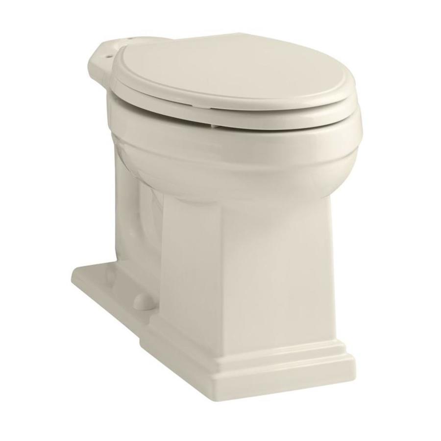 KOHLER Tresham Almond Elongated Chair Height Toilet Bowl