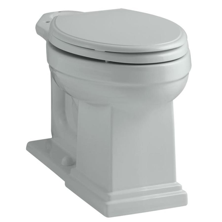 KOHLER Tresham Chair Height Ice Gray 12 Rough-In Elongated Toilet Bowl