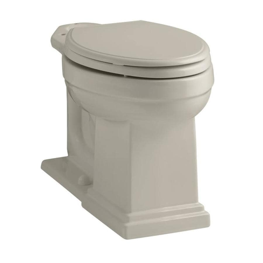 KOHLER Tresham Sandbar Elongated Chair Height Toilet Bowl