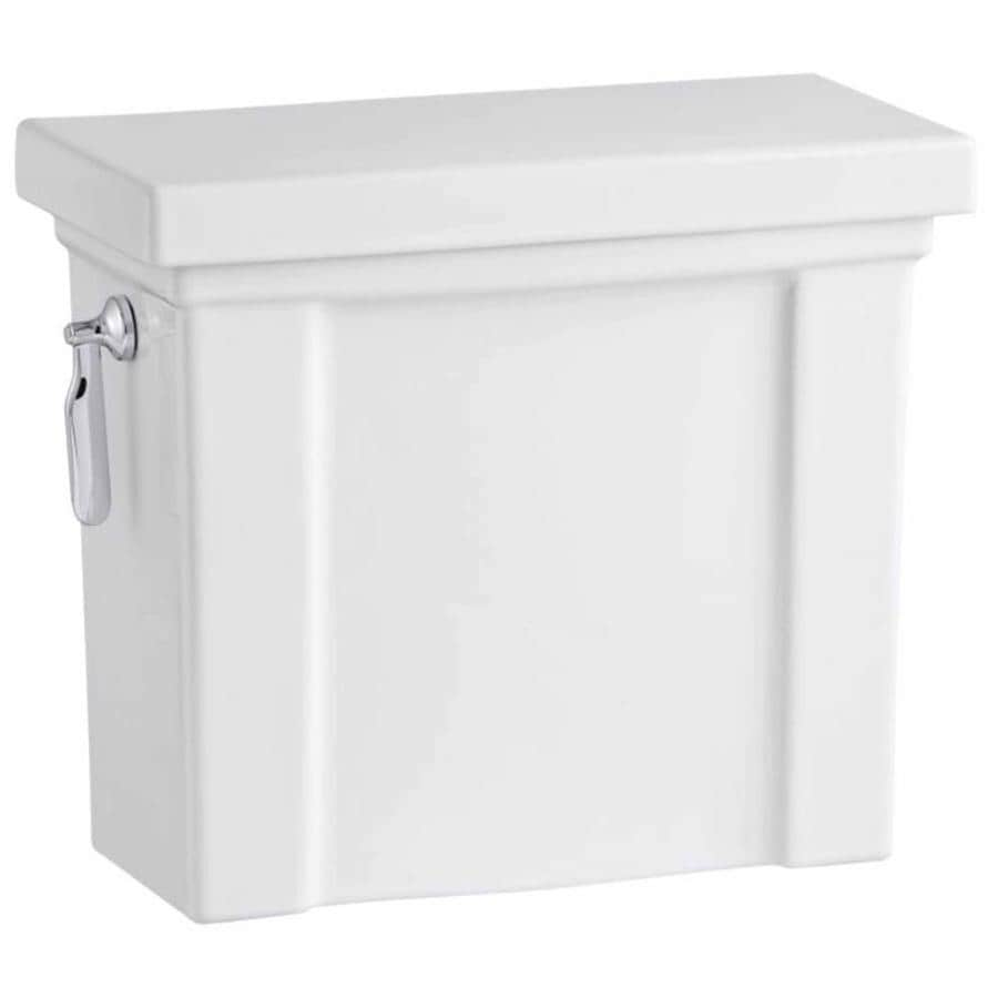 KOHLER Tresham White 1.28-GPF Single-Flush High-Efficiency Toilet Tank